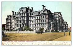 1907 State, War, & Navy Department (now Executive Office Building), DC postcard