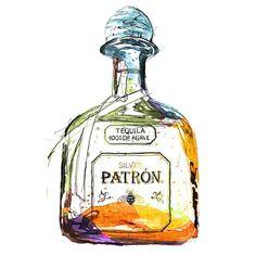 Finitooooo #patron #alcohol #AA #alcoholic #idonthaveaproblem #iswear #ink #idoesthis #illustration #art #watercolor #instart #nyc