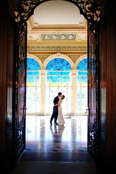 Absolutely breathtaking.  The halls of Vizcaya Photograph by Adagion Studio http://www.storyboardwedding.com/old-hollywood-glam-meets-moments-of-joyous-laughter-at-this-vizcaya-museum-and-gardens-wedding-in-miami/