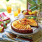 Caramel Apple Cheesecake Tart Recipe from Southern Living...my cousin made this for Thanksgiving and it was delicious!
