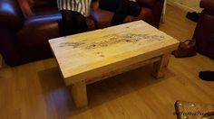 A Coffee Table --- Made From Pallets ---  #pallets