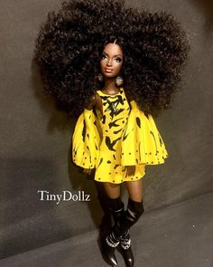 Image may contain: 1 person, standing, shoes and text Dress Up Dolls, Barbie Dress, Barbie Clothes, Barbie Life, Barbie World, Fashion Royalty Dolls, Fashion Dolls, African American Dolls, Beautiful Barbie Dolls