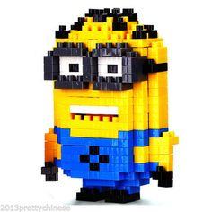 Nano-Block-Building-Blocks-Sets-Mini-Blocks-Toys-Gift-Series-Minion-Jerry