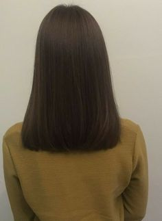 Hair cuts cambio de look 22 Ideas, Haircuts For Medium Hair, Medium Hair Cuts, Hairstyles Haircuts, Medium Hair Styles, Straight Hairstyles, Short Hair Styles, Brown Blonde Hair, Brunette Hair, Dark Hair