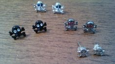 Four Pairs of Skull Earrings - $8    ***********PRICE LOWERED***********