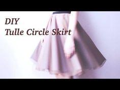 DIY Tulle Circle Skirtㅣmadebyaya