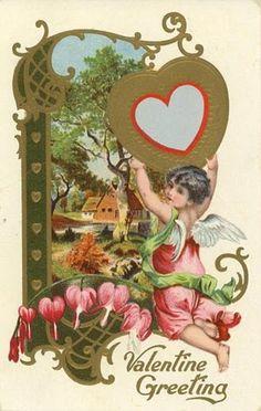 Free Victorian Valentine printables