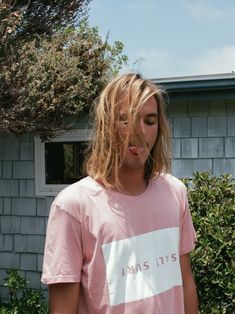 Pastel pink surfer inspired t shirts pastel pastel pastel Hair Inspo, Hair Inspiration, Surfer Guys, Hair Journey, Cute Hairstyles, New Hair, Beauty Women, Hot Guys, How To Look Better