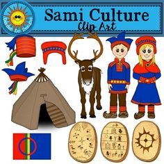 Sami Culture Clip Art - by Deeder Do Christmas Crafts For Toddlers, Winter Activities For Kids, Toddler Christmas, Fun Activities, Elf On The Shelf, The Elf, Reindeer Craft, Snowman Crafts, Culture