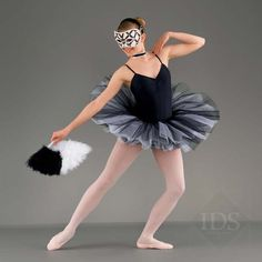 White and black for mimes. Ideally would like a different top/leotard