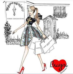 @anna_fashion_illustrator  Be Inspirational ❥ Mz. Manerz: Being well dressed is a beautiful form of confidence, happiness & politeness