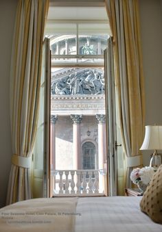 Four Seasons Hotel, Lion Palace, St Petersburg, Russia   - Explore the World with Travel Nerd Nici, one Country at a Time. http://TravelNerdNici.com