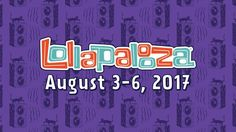 #tickets 2 Lollapalooza 2017 Single Day Passes - Thursday August 3rd Tickets -Chicago 8/3 please retweet