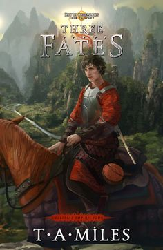 My font CARRIG in use for Three Fates cover artwork.