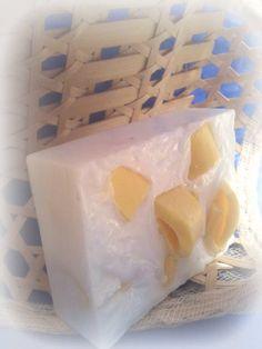 lemon and patchouli soap