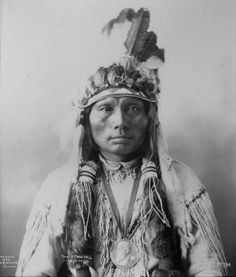 Three Fingers - Southern Cheyenne - 1898