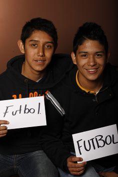 Football, Diego Castañeda y David Luna, Estudiantes, UANL, Monterrey, México