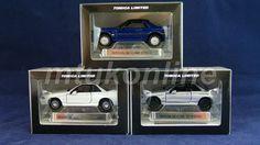 TOMICA TL   SKYLINE HISTORY   NISSAN SKYLINE GT-R R32 & GTS-R R31   3 MODELS