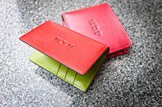 Dominique Saint Paul hand coloured wallets
