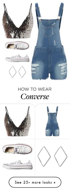 """""""Untitled #5559"""" by twerkinonmaz on Polyvore featuring Converse and area"""