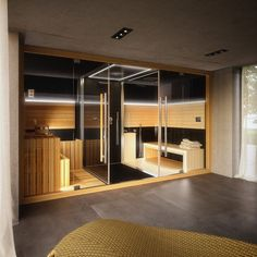 Steam shower and sauna