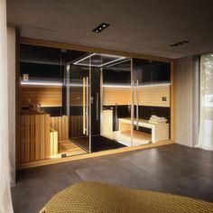 Steam shower and sauna