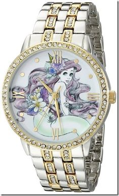 Disney Discovery- Ariel Two Toned Watch