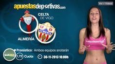 Pronóstico deportivo para el próximo enfrentamiento entre el Celta de Vigo y el Almería. #ligaBBVA #videoblog #apuestas