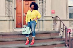 LoveBrownSugar: LoveBrownSugar Chic: Mellow Yellow
