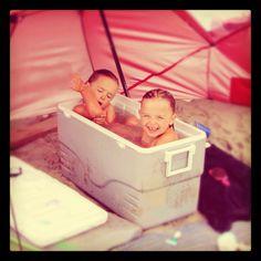 Taking a bath on the beach. Summer Heat, Summer Fun, Summer Time, Keep Cool, Ocean City, Bath, Babies, Friends, Sweet