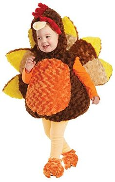 UHC Turkey Outfit Thanksgiving Safari Theme Party Toddler Halloween Costume, 18-24M *** Details can be found at