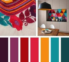Home Decoration Ideas Images Red Colour Palette, Color Palate, Colour Schemes, Color Combos, Red Color, Mexican Colors, Design Seeds, Colour Board, Color Swatches