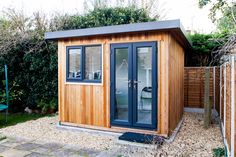 Another great garden office built by the Cabin Master team.  #CabinMaster #GardenOffice #HomeOffice #CabinMaster