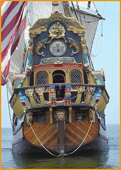 Tall Ships and Maritime History - Tall Ship Kalmar Key… -You can find Kay. Ship Figurehead, Old Sailing Ships, Ship Of The Line, Wooden Ship, Set Sail, Wooden Boats, Tall Ships, Model Ships, Water Crafts