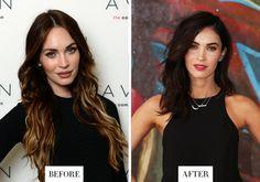 Megan Fox - Long Hair to Short