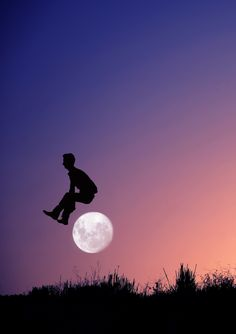 jumping the moon