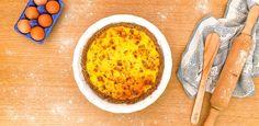 Voici une recette très facile et rapide à réaliser : une délicieuse quiche aux poireaux et échalottes, pour un repas gourmand et équiliibré. Quiche Sans Gluten, Yuka, Macaroni And Cheese, Eggs, Gluten Free, Pasta, Ethnic Recipes, Breakfast, Cooking