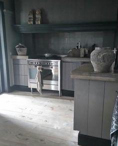 Grey kitchen #landelijkwonen