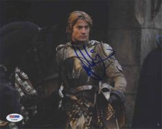 """Nikolaj Coster-Waldau """"The Game of Thrones"""" Signed 8x10 Photo Certified Authentic PSA/DNA COA"""