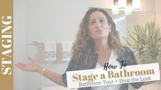Home Staging Bathroom Tips Bathroom Staging, Home Staging, Shabby Chic Banners, Exit Realty, Home Selling Tips, Romantic Shabby Chic, Real Estate Tips, Wet Rooms, Garden Styles