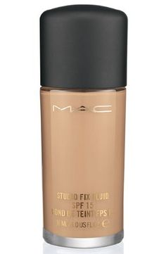 MAC- STUDIO FIX FLUID SPF15 FOUNDATION -LIQUID-30ML NC35 BOXED by M.A.C - http://uhr.haus/m-a-c/mac-studio-fix-fluid-spf15-foundation-liquid-30ml