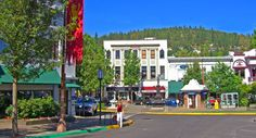 Best U.S. Small Town! Ashland, Oregon on the Plaza ~  http://www.greattowns.com/oregon/ashland/index.html