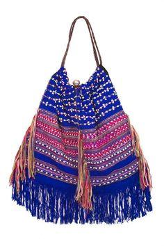 befairbefunky:    Boho tribal bag ~ Eliot Mann
