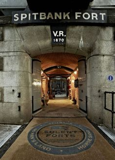 A Victorian Coast Defense Fort Is Transformed Into A Luxury Hotel - hotels Homepage Portsmouth England, Portsmouth Harbour, Luxury Sailing Yachts, Floating Hotel, Concrete Structure, Beautiful Hotels, Isle Of Wight, Luxury Apartments, Holiday Destinations