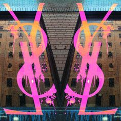 """Fluorescent Palace """"Boutique Streets"""" Graphic Art on Canvas Size: Palace, Clock Art, Fashion Wallpaper, Images Wallpaper, Wallpapers, Fashion Wall Art, Everything Pink, Boutique, Picture Wall"""