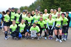 Tread Powerfully's Tough Mudder team for the Toronto Tough Mudder at Mount St. Louis on May 11, 2013.