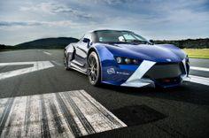 React'EV ( 410 hp, hybrid vehicle ) Espera sbarro school