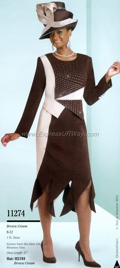 Church Suits by Donna Vinci for Fall 2014 - www.expressurway.com, Donna Vinci…