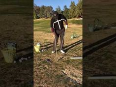 Dan Shauger Master of his (New Golf Swing) Norman Rope Drill/16 Differen...
