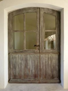 Carriage house style door